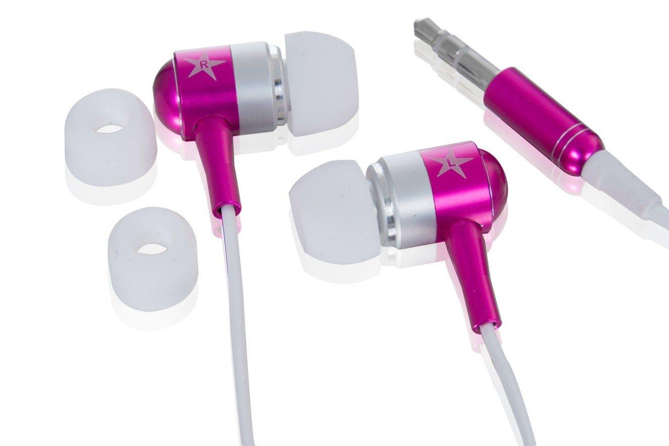 in ear stereo kopfh rer pink f r mp3 player philips gogear azure 4g ebay. Black Bedroom Furniture Sets. Home Design Ideas
